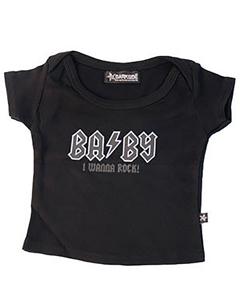 BABY I WANNA ROCK!