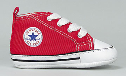 CONVERSE CHUCKS FIRST STAR