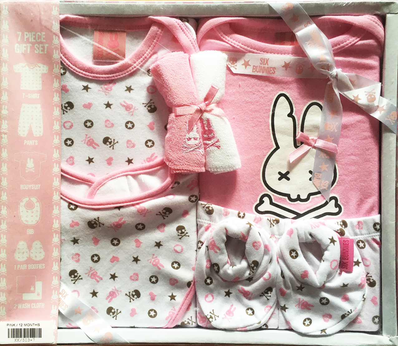 PINK CHAOS BUNNIES SET