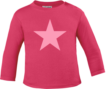 BABY PINK STAR PASTELL