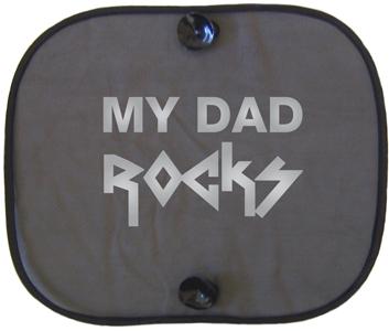 MY DAD ROCKS SILVER