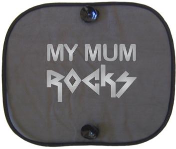 MY MUM ROCKS SILVER