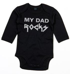 MY DAD ROCKS METALLIC