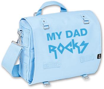 MY DAD ROCKS BLUE