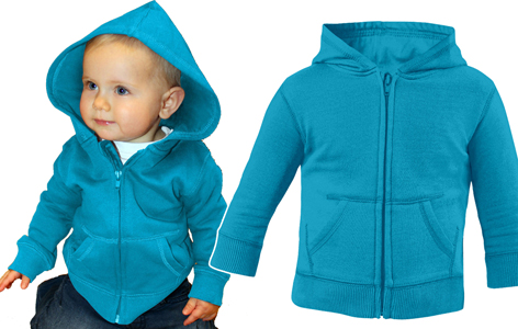 BABY HOODED SWEAT ZIPPER