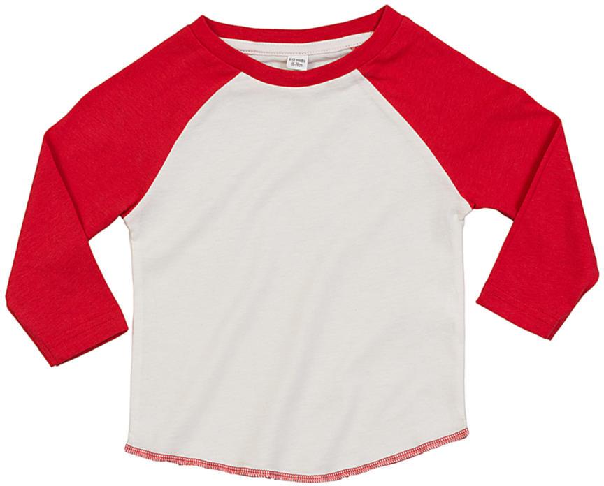 BABY SUPERSTAR BASEBALL SHIRT