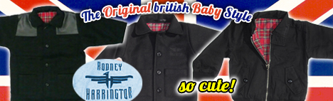 Harrington Baby Jacken
